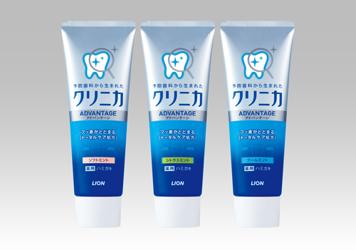 CLINICA ADVANTAGE Toothpaste